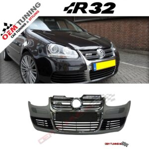 GOLF 5 R32 Voorbumper (Grille chrome)-0