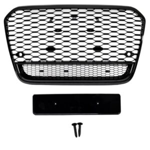 RS6 Grille Black Edition voor A6 S6 Sline C7 model | 2011-2014 | RS6 LOOK-0