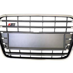 A6 S6 S Line Grille platinum grey | 2014-2018 | clean versie |-0