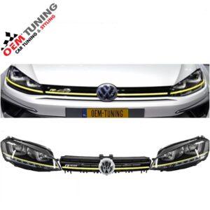 Golf 7 R400 koplampen R design U led + R400 grille-0