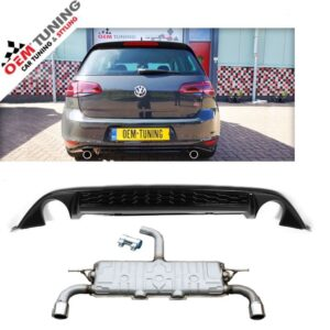 GOLF 7 GTI UITLAAT + GTI DIffuser | 2012- 2016-0