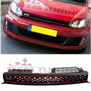 Vw golf 6 GTI clean look grille grill | 2008 - 2012-0