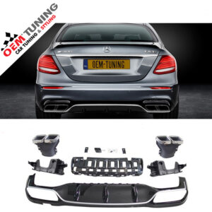 Mercedes-Benz E-Class W213 E63 AMG S Diffuser CHROME | 2016- 2018-0