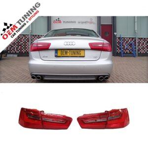 LED Dynamische Achterlichten Audi A6 C7 SEDAN 2011-11.2014-0