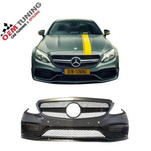 Mercedes-Benz C-Class | C205 W205 A205 S205 C63 EDITION 1 VOORBUMPER | 2015-2018 | -0