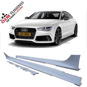 Audi A7 RS7 SIDESKIRTS | A7 4ga | 2010-2018 | OEM DESIGN -0