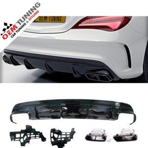 Mercedes-Benz C117 CLA 45 | AMG look diffuser | 2013-2016 | OEM DESIGN | -0