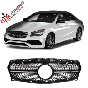 Mercedes-benz C117 X117 CLA | black diamond grille | 04/2016 - 01/2019 |-0
