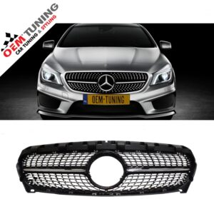 MERCEDES-BENZ C117 X117 CLA | BLACK DIAMOND GRILLE | 01/2013 - 04/2016 |-0