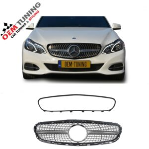 Mercedes-Benz E-Class W212 S212 | Silver Diamond GRILLE | 2013-2016 |-0