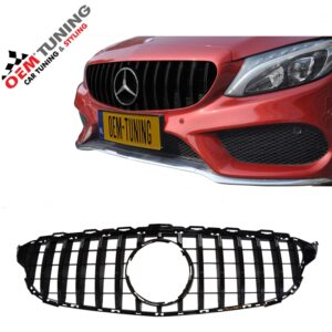 Mercedes-Benz C-Class W205 | Panamericana GT R GRILLE | 2014-2018 |-0