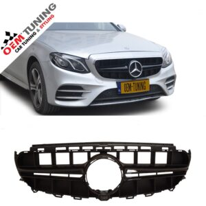 Mercedes-Benz E-Class W213 S213 | E63 AMG look Grille Black | 2016-2018 |-0