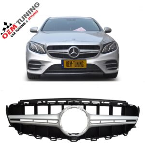 Mercedes-Benz E-Class W213 S213 | Silver AMG GRILLE |-0