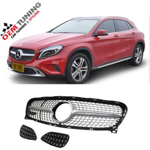 MERCEDES-BENZ GLA | Silver Diamond Grille |2014 - 2017|-0