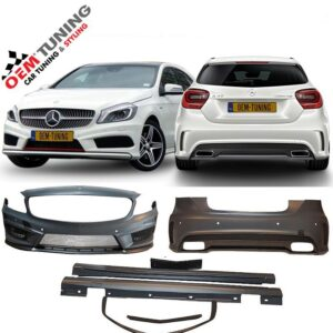 Mercedes A-CLASS W176 AMG BODYKIT | 2012-2015 | AMG | NO GRILLE | NO ENDTIPS-0