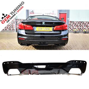 BMW 5 serie G30/G31 | M-Performance Diffuser M-TECH | Carbon-0