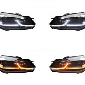 GOLF 6 Dynamische LED KOPLAMPEN met Golf 7.5 look | 2008 - 2012 |-0