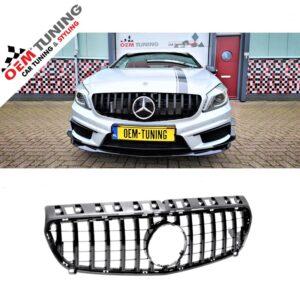 Mercedes-Benz | W176 A-Class | GT-R look GRILLE | 2012-2015|-0