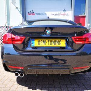 BMW 4 serie | F32/F33/F36 | M-Performance Achterbumper diffuser voor M-TECH | 00 - |-4418